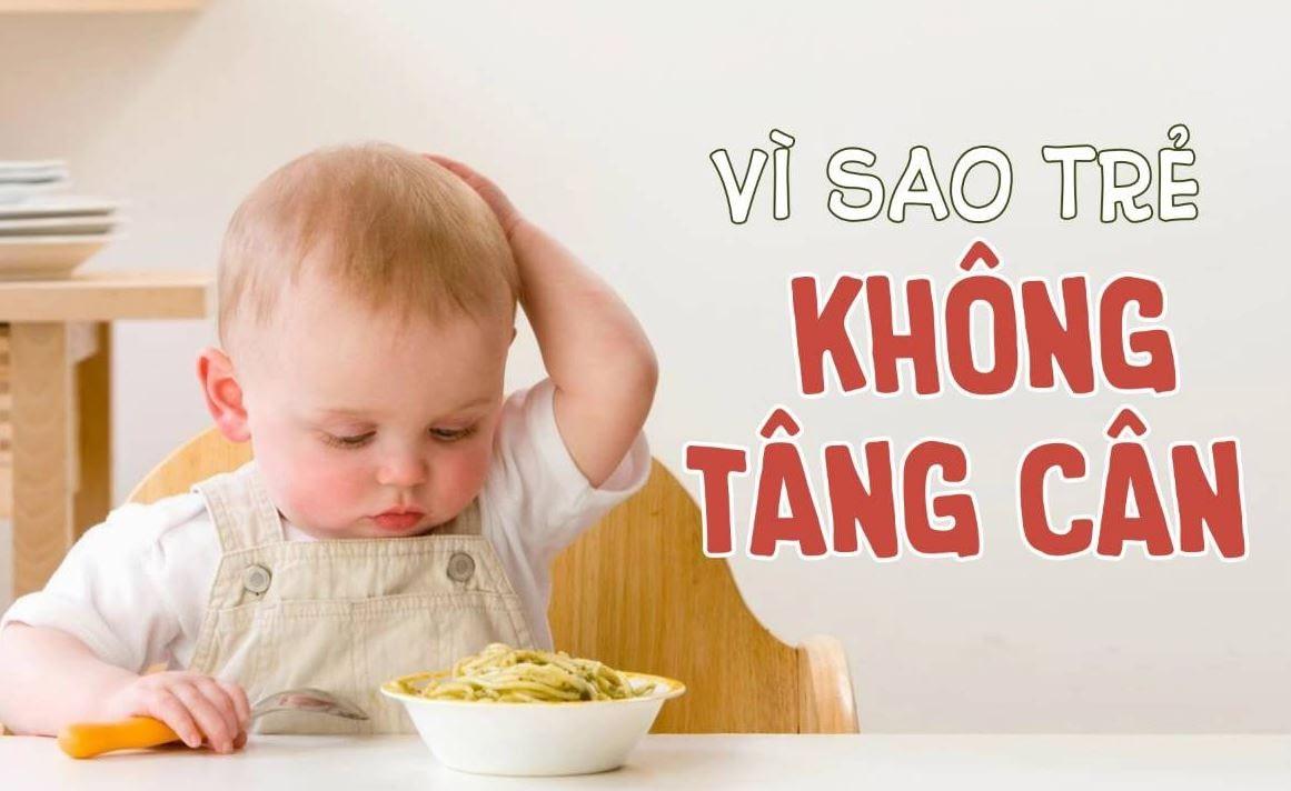 Lý do bé ăn nhiều nhưng không tăng cân?